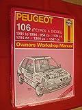 Peugeot 106 (Petrol and Diesel) Owners Workshop Manual (Service & repair manuals)