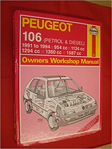 Peugeot 106 Petrol and Diesel Owners Workshop Manual Service & repair manuals: Amazon.es: Mark Coombs, Steve Rendle: Libros en idiomas extranjeros