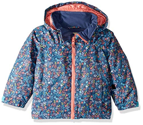 Roxy Girls' Toddler Mini Jetty Snow Jacket, Bachelor Button_Rumba Ditsy, 2 ()