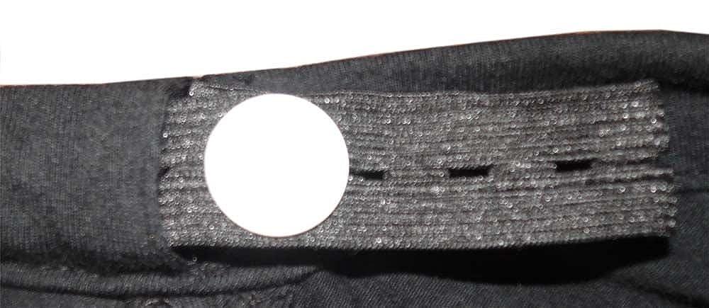 Twins Fuesschen Kleiner Fratz gr/ö/ßenverstellbares Bauchband mit St/ützfunktion Umstandsmode Schwangerschaft