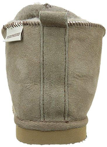 Shepherd Annie, Zapatillas de Estar por Casa, Unisex Marrón (Marron / Stone)