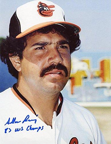 Allan Ramirez Signed Photo - 83 Ws Champs 8x10 W coa - Autographed MLB Photos