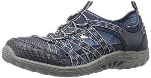 Skechers Women's Reggae Fest-Dory Fashion Sneaker,7.5 M US,Navy by Skechers