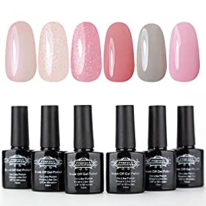 Perfect Summer UV/LED Gel Nail Polish Set - Soak Off Nail Polish,10ml Each #04
