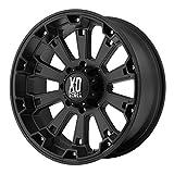 xd series 18 - XD Series by KMC Wheels XD800 Misfit Matte Black Wheel (18x9