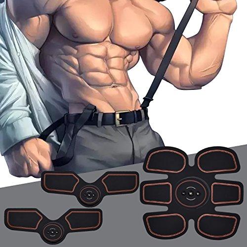 VORSTEK Musle Belt Ab Toner ABS Stimulator Belly Workout Portable Muscle abdominal trainer belt Electronic Abdominal Trainer 6 Pack with Controller- Ultimate for Men Women