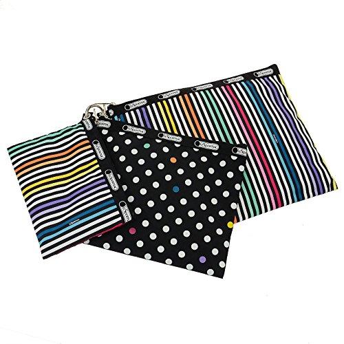 LeSportsac 3 Piece Travel Set Zipper Cosmetic Case, Ledot Travel Set, One Size