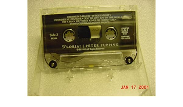 Amazon.com: Audio Cassette Tape of Gloria! Peter Pupping An Acoustic Guitar Christmas.: Toys & Games