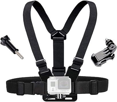 Para GoPro HERO 7//6//5//4 Montaje de Pecho Arnés Cuerpo De Cámara Correa Cinturón Ajustable Pro