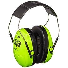 3M Peltor Kids Ear Muffs Neon Green H510AK-442-GB by 3M