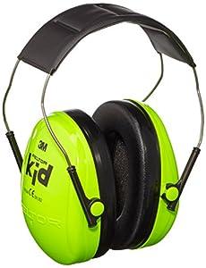 3m peltor kids ear muffs neon green h510ak 442 gb amazon. Black Bedroom Furniture Sets. Home Design Ideas