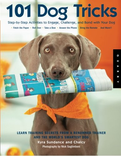 101 Dog Tricks: Step by Step Activities to Engage, Challenge, and Bond with Your Dog by Quayside Pub Group