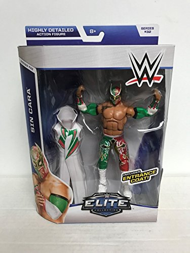 SIN CARA 2014 WWE Elite Collection Series 32 action figur...