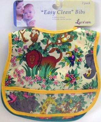 Bib Vinyl Easy Clean 2Pk 18 pcs sku# 904031MA