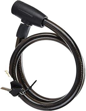 Antibloqueo seguro para bicicletas con seguro en espiral con 2 llaves - Cable antibloqueo antibloqueo para bicicletas 20 * 100mm (negro): Amazon.es: Bricolaje y herramientas