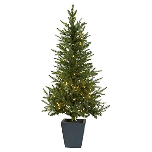 45-ft-Christmas-Tree-with-Clear-Lights-Decorative-Planter