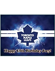 """Single Source Party Supply - Toronto Maple Leafs Edible Icing Image #1-8.0"""" x 10.5"""""""