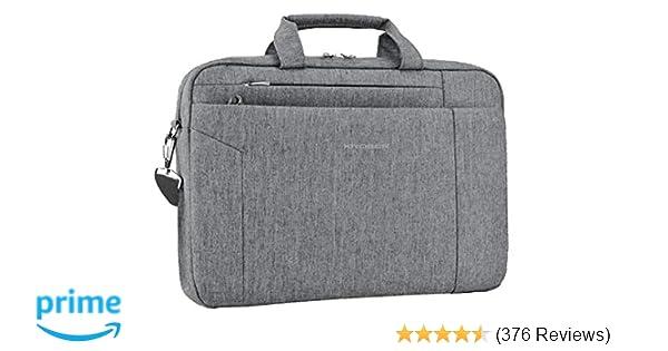 ea47e18d7fea KROSER Laptop Bag 15.6 Inch Briefcase Shoulder Messenger Bag Water  Repellent Laptop Bag Satchel Tablet Bussiness Carrying Handbag Laptop Sleeve  for Women ...