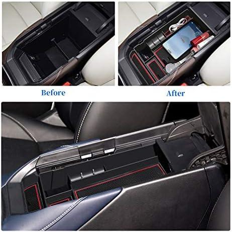 Cx 30 Cx30 Mittelkonsole Aufbewahrungsbox Armlehne Organizer Mittelarmlehne Handschuhfach Tray Storage Box Zubehör Rot Auto