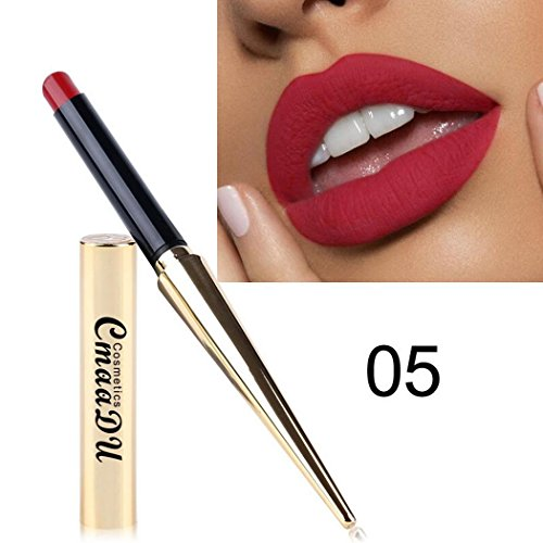 Hello22 Nonstick Cup Waterproof Matte Lipstick, Long Lasting Lipstick Matte