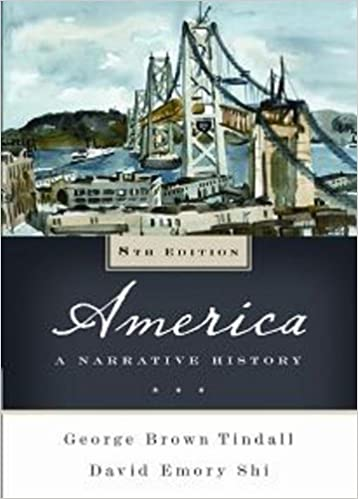 Book America: A Narrative History (Eighth Edition)(Vol. One-Volume)