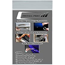 Install Proz Self-Healing Clear Paint Protection Film Kits (Bundle-Hood Strip, Door Edge, Cup, Sill, R-Bumper)