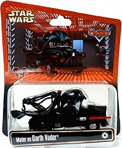 Disney Star Wars Pixar Cars - MATER as DARTH VADER - 1:55 Scale Die Cast - Theme Park Exclusive - Limited Edition