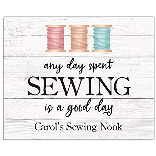 Personalized Sewing Print | Craft Room Decor | Sewing Gift | Sewing Room Decor | Sewing Decoration | Knitting Gift | Quilting Gift | Gift for Grandmother | Mother's Day Gift | Grandmother Birthday from Canary Road