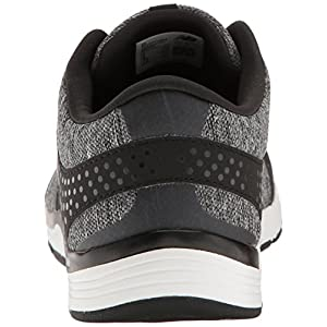 New Balance Women's WX577V4 Cush + Training Shoe, Black, 7.5 B US