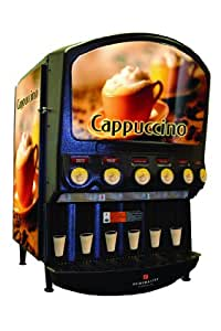 Grindmaster-Cecilware, PIC6, 6 Flavor Hot Powder Cappucino/Hot Chocolate and Specialty Beverage Dispenser