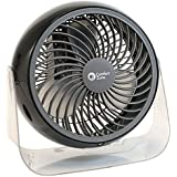 Comfort Zone 6 Deco Turbo Fan, 4 pack, Assorted Colors - Lot of 4