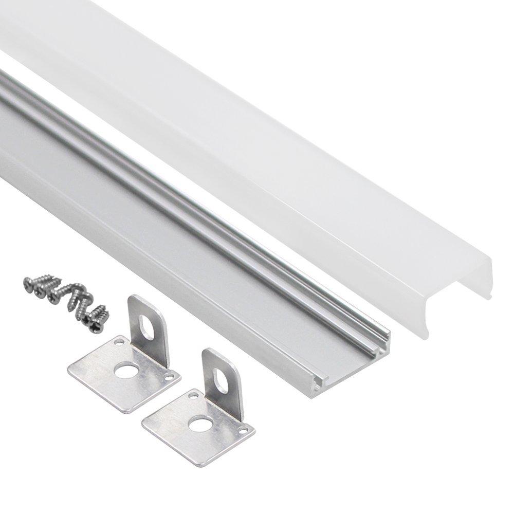 1M/3.3ft U-Shape Aluminum Channel - LED Aluminum