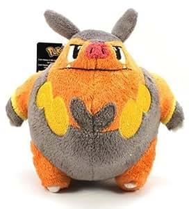 "Jakks Pacific 6"" Pokemon Black White Series 3 Mini Plush - Pignite [Toy]"
