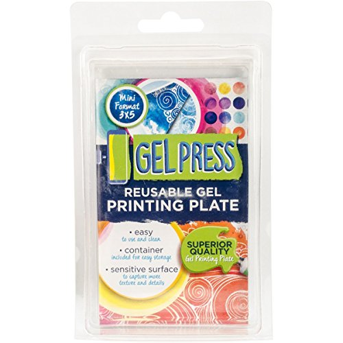 Gel Press 10808 Gel Plate 3''X5'' by Gel Press