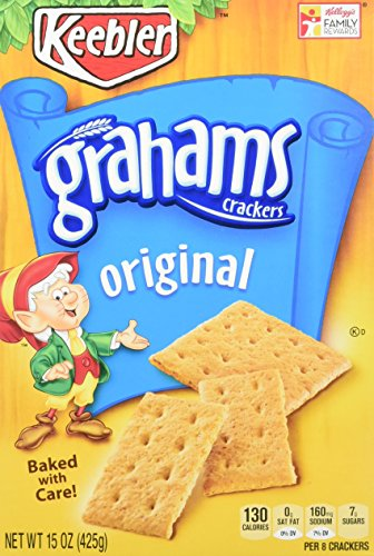 Keebler Grahams Crackers, Original, 15 oz Tray(Pack of (Sub Tray)