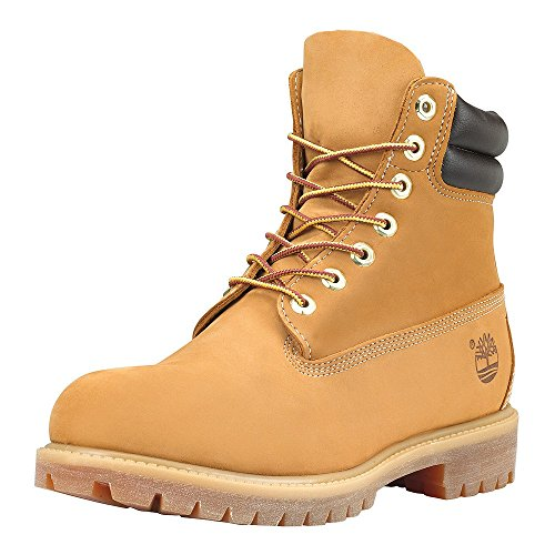 Timberland 6 in Double Collar Waterproof, Polacchine Uomo Wheat
