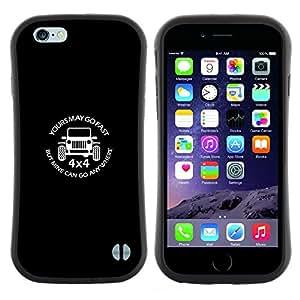 "Hypernova Slim Fit Dual Barniz Protector Caso Case Funda Para Apple (4.7 inches!!!) iPhone 6 / 6S (4.7 INCH) [Coche campo Unidades Fast Power Road""]"