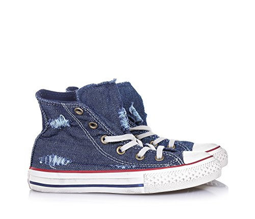 CONVERSE Blauer Chuck Taylor All Star Sneaker mit Schnürsenkeln Schnürsenkeln Schnürsenkeln aus ... 2e41d2