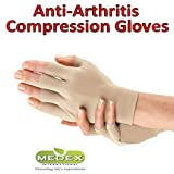 Orthopedic Arthritis Compression Gloves All Day Relief (1 Beige)