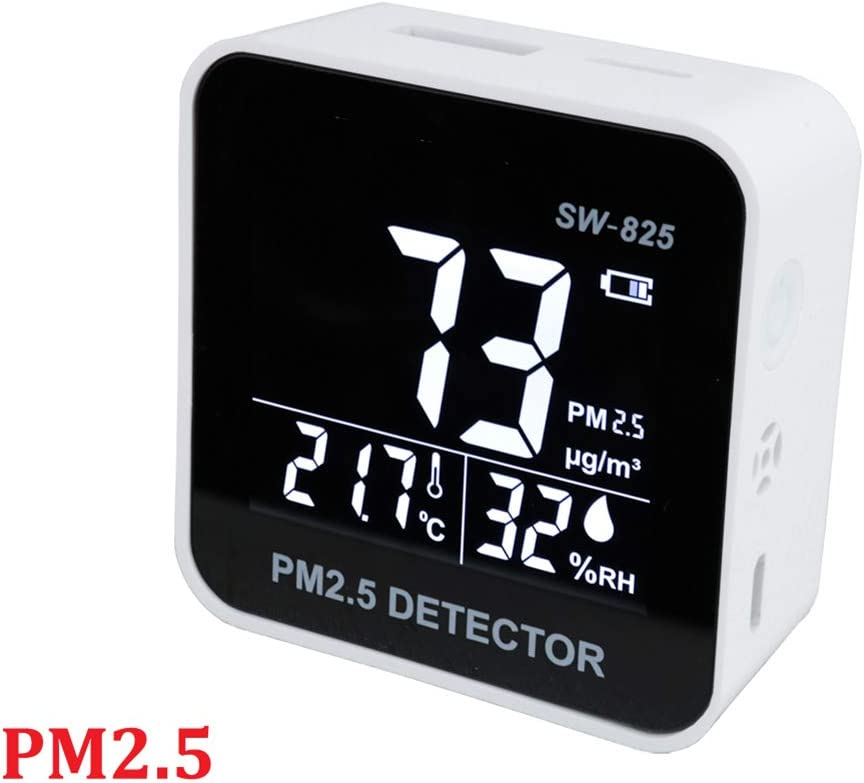 N/_A Monoxide Monitor Gas Analyzer Portable Digital Air Quality Temperature Humidity Monitor Detector