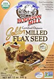Hodgson Mill Flax Seed Milled Golden, 12 oz