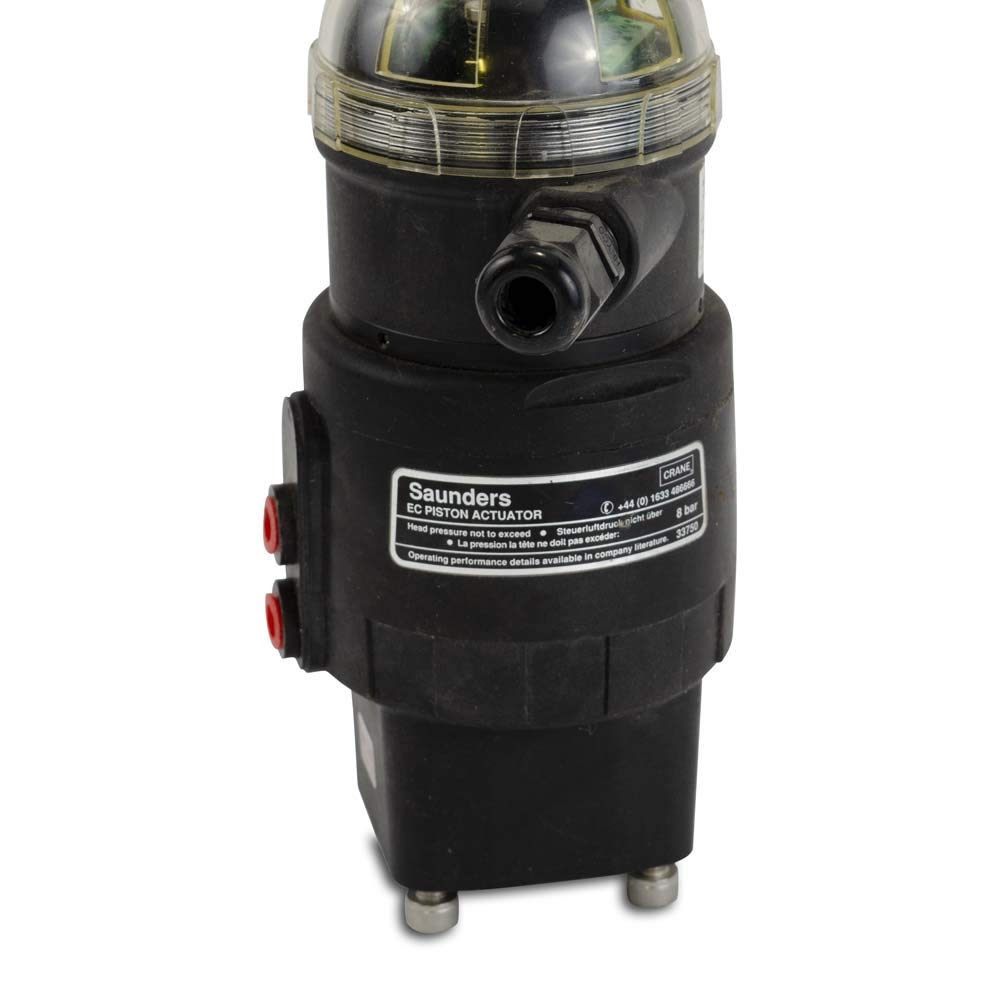 Saunders EC Piston Actuator Westlock Position Indicator for 1