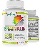 Vitaminas Para El Cerebro Memoria Y Concentracion - Suplemento Natural - Mejore Su Memoria Y Concentracion O El Producto Es Gratis - Fórmula Avanzada Basada En Más De 102 Estudios Cientificos
