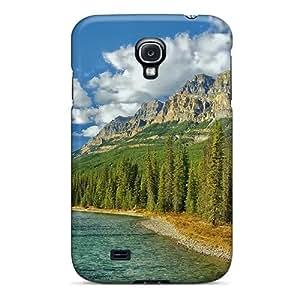 Hot Design Premium Qeh1811ioMs Tpu Case Cover Galaxy S4 Protection Case(fantastic Riverscape)