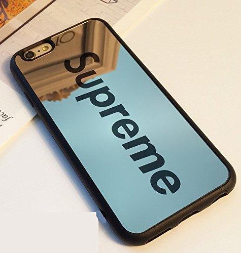 3SA STORE USA Fashion supreme Mirror Plating Style Brand case For Iphone 7 case Phone Mirror black supreme - Usa Mirror