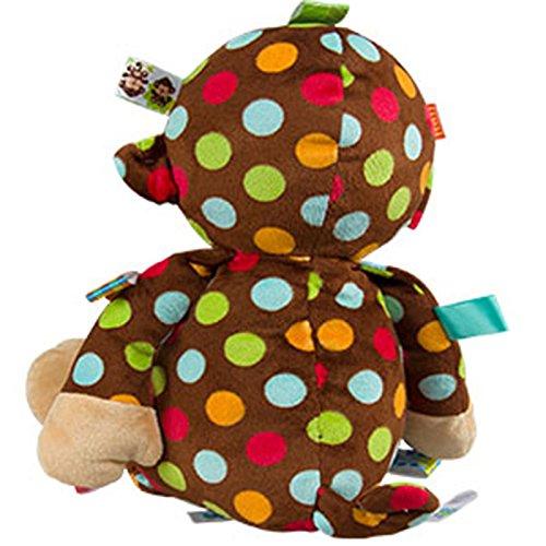 Amazon.com : Mary Meyer Taggies Big Dazzle Dots Soft Toy, Monkey ...
