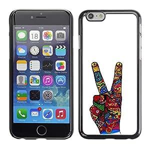 Eason/duro delgado tienda Zeste en carcasa - mano firme mielofibrosis Victoria blanco - para Apple iphone 6 Plus 5,5
