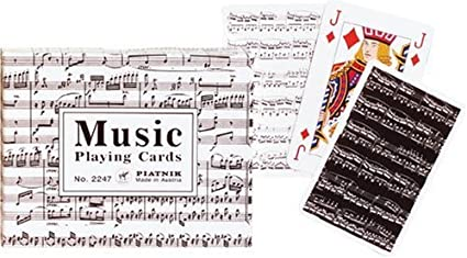 Amazon.com: Gibsons Games Piatnik música jugando a las ...