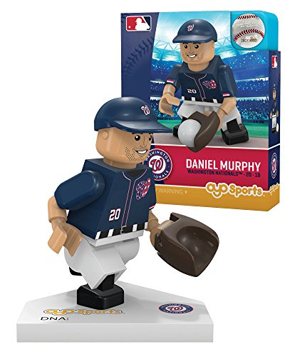 MLB Washington Nationals Daniel Murphy Home Uniform Limited Edition OYO Minifigure