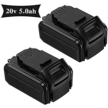 Libatter 2pack 20v Max 5 0ah Rechargeable Lithium Ion